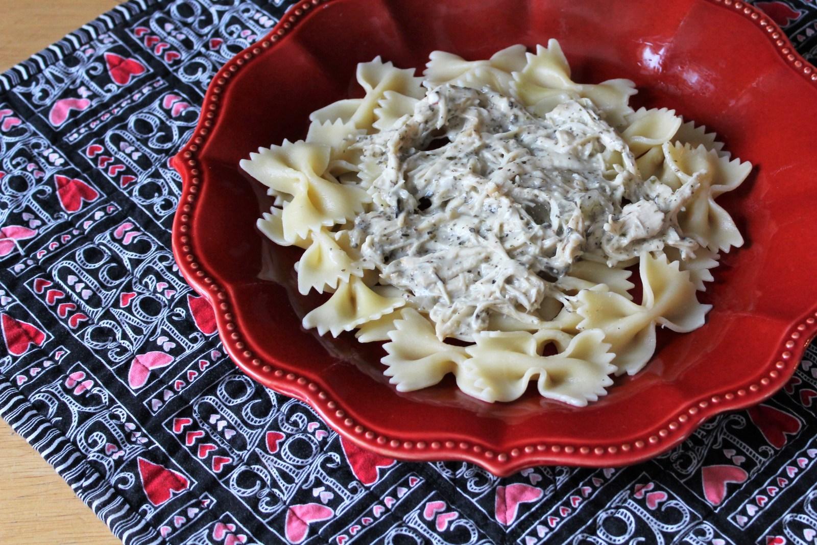 cream cheese chicken pasta