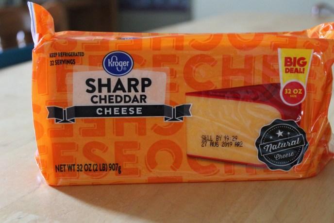 block cheese