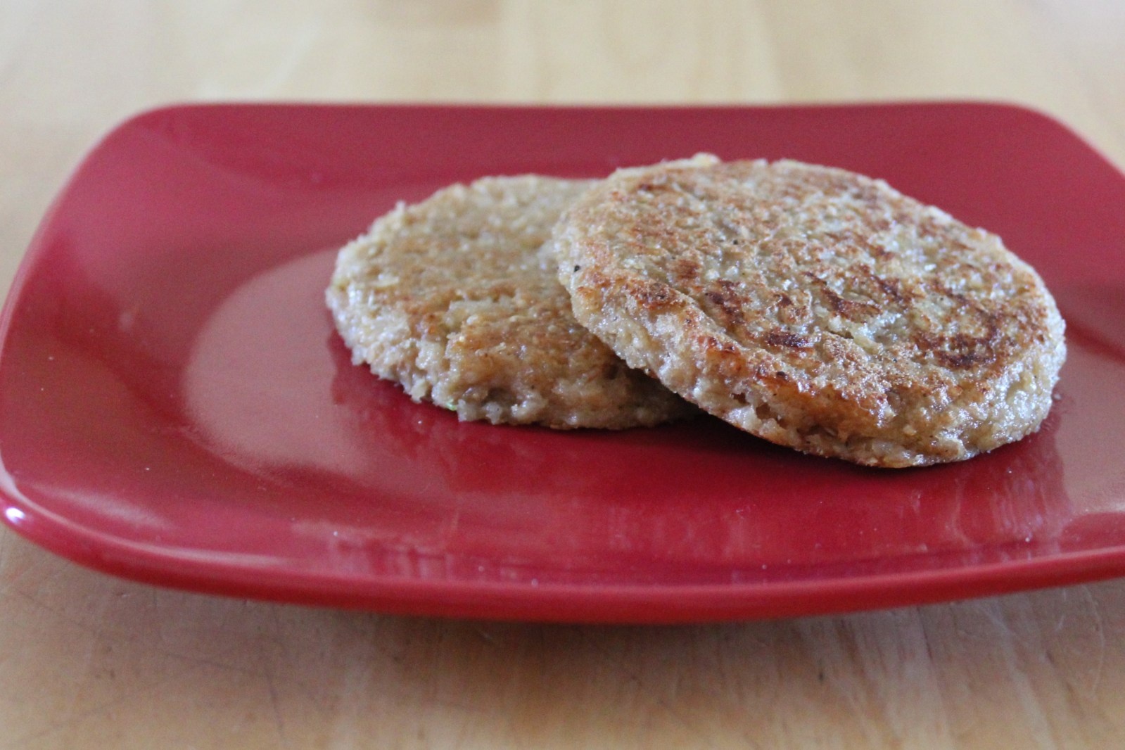 sprouted wheat patties
