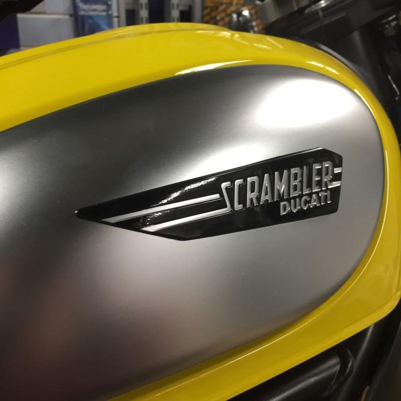 Scrambler Ducati at Motoworks Chicago