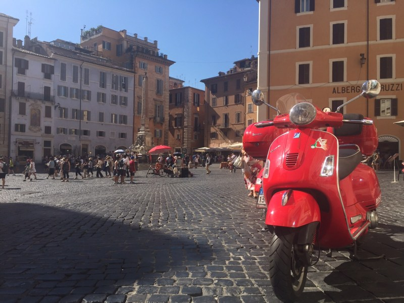 Vespa by Italy