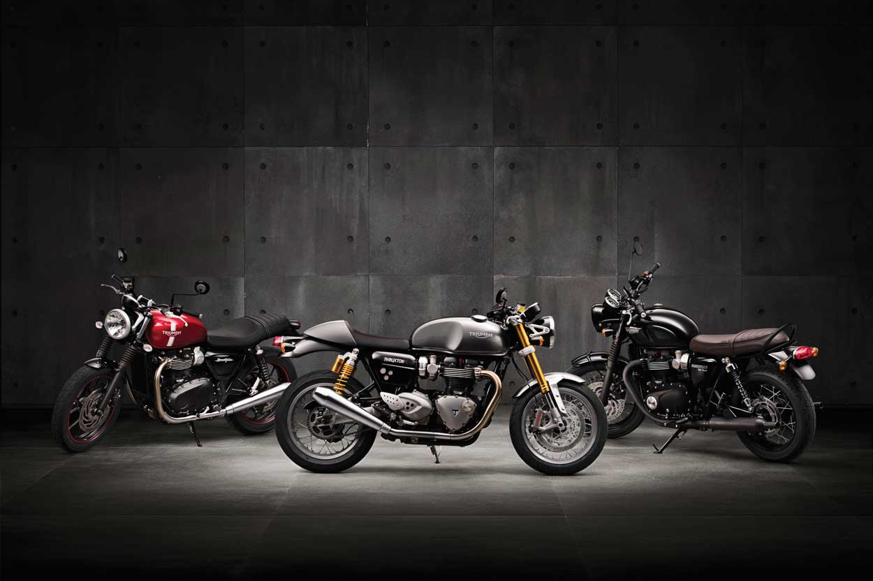 The 2016 Triumph Motorcycle Lineup - Behind The Moto