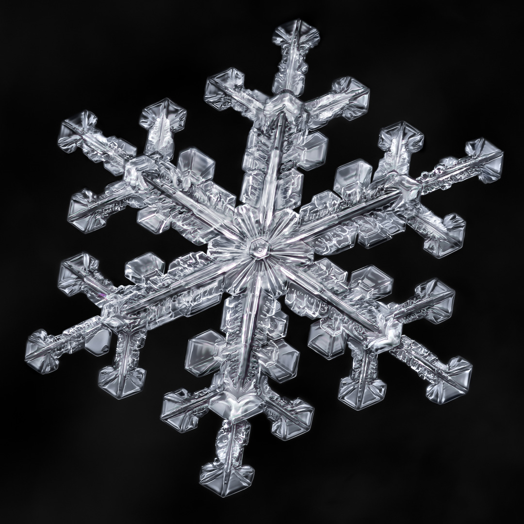 The Art Of Snowflakes Behind The Shot