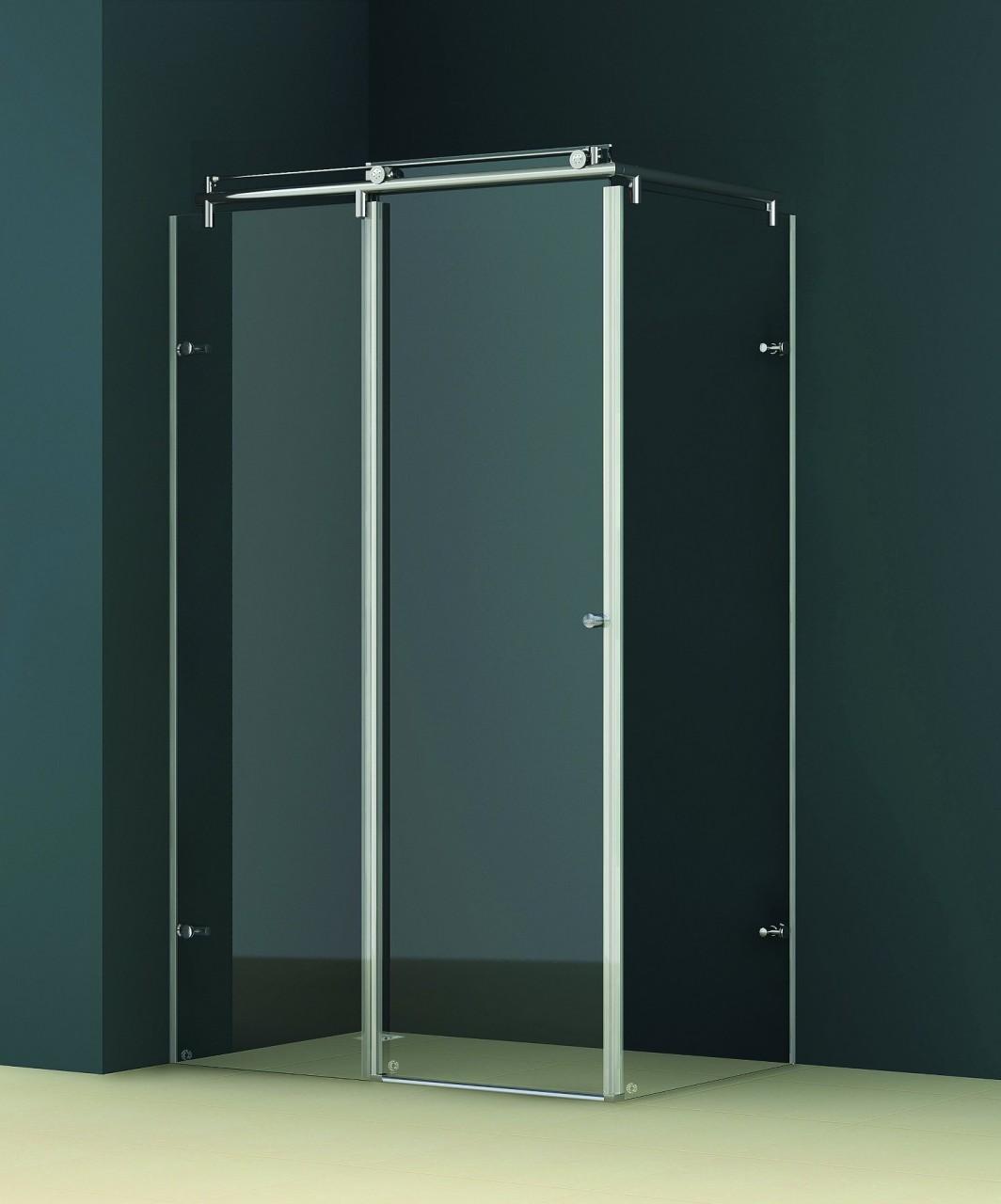 All About Vigo Frameless Shower Enclosures Behind The Shower