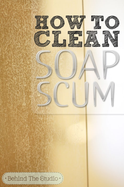 Beautiful How To Clean Soap Scum Off A Glass Shower Door @jayna