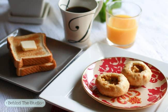 #ad Tyson Breakfast Bread Bowl - http://www.behindthestudio.com #TysonBreakfast #cbias #shop
