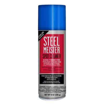 The best RX for stainless steel - Meisters Stainless Steel Spot Cleaner When you have a small child, everything comes with a side order of fingerprints and a layer of stickiness at about waist level. So if you have a stainless steel fridge, I can't imagine how difficult it must be to keep clean when you have little people pulling it open over and over. Even without kids, we adults can easily mess things up especially when we are cooking and moving between the fridge, stove, microwave & sink. That being said, I think I have found the secret to keeping stainless steel flawless looking. As a mom and blogger of food, I use my stove and microwave combo quite abit. Recently, I managed to mess up the door handle pretty badly when making my chocolate pie, so I thought it would be a good time to wipe it down with Steel Meister Spot Cleaner to get it looking normal again. I used a microfiber cloth and sprayed some of the Steel Meister Spray on it and set to work polishing up my microwave door. The best RX for stainless steel - Meisters Stainless Steel Spot Cleaner The best RX for stainless steel - Meisters Stainless Steel Spot Cleaner After putting in a little elbow grease, The microwave shined so bright with not a fingerprint in sight! My 5 year old microwave now looks brand new again and I couldn't be happier about it. The best RX for stainless steel - Meisters Stainless Steel Spot Cleaner I also got tried the Steel Meister's spot cleaner on a rusty spot that's been bugging me at the sink. Again, I sprayed the towel got to work... The best RX for stainless steel - Meisters Stainless Steel Spot Cleaner The best RX for stainless steel - Meisters Stainless Steel Spot Cleaner And now it looks perfect - No more rusty spots! The best RX for stainless steel - Meisters Stainless Steel Spot Cleaner