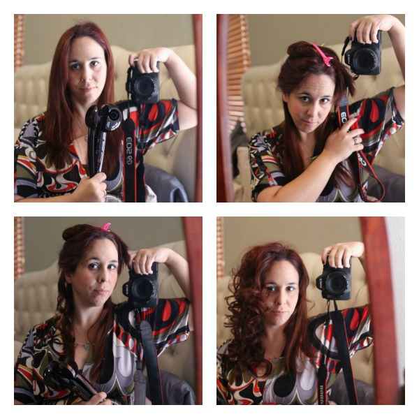 Everyday Hair Styles with Conair® Curl Secret and Conair® 3Q™ #HeartMyHair #Cbias #shop