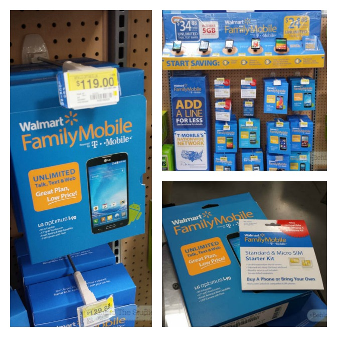 Lowest priced unilimited plans with Walmart Family Mobile makes GREAT christmas presents! - #HolidaysAreCalling #Cbias #ad