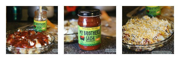 Tex Mex Potatoes with My Brother's Salsa - #MyBrothersSalsa #cbias #ad