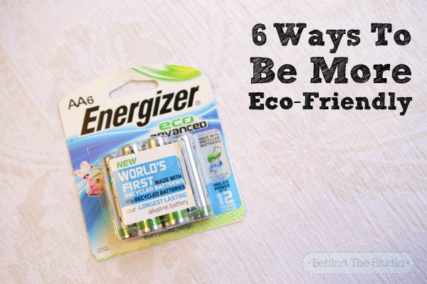 It's not easy being green - here's 6 ways you can be more eco-friendly  #BringingInnovation #ad
