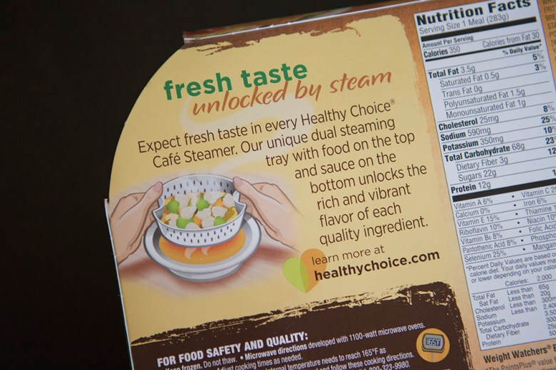 Healthy Choice Cafe Steamers - #LiveHealthyChoice #ad