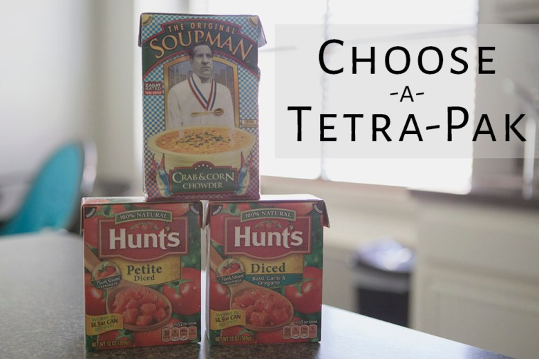 It's not easy being green - choose a tetra-pak when you can! #ad #TetraPak #RenewableLiving