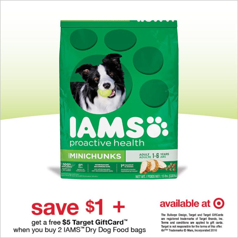 Double your savings at Taget! Iams Dog Offer #IamsDogOffer #ad