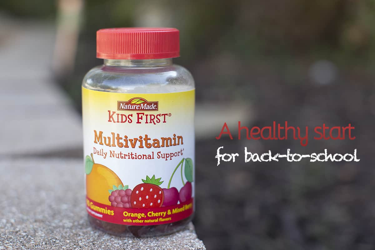 A healthy start to the school year with Nature Made Kids First® Multivitamin #AD #NatureMadeAtTarget #IC
