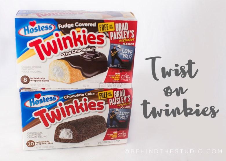 Chocolate cake strawberry trifle with Hostess Twinkies   #TwistOnTwinkies #AD @Hostess_Snacks