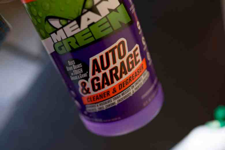 Spring Cleaning with Mean Green Cleaner