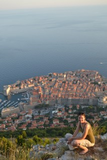 Old Town Dubrovnik from above