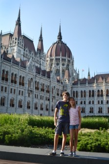 Hungarian Parliament Buildings