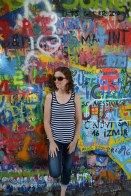 At the John Lennon Wall