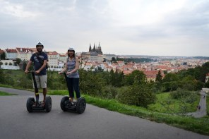 Our anniversary segway tour of Prague