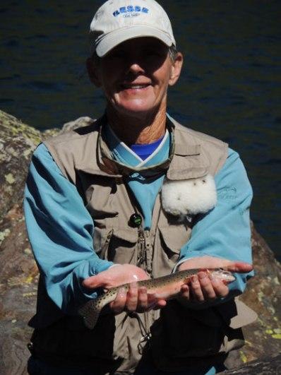 cut throat trout