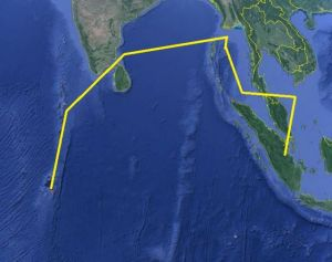 MH370-Flight Path