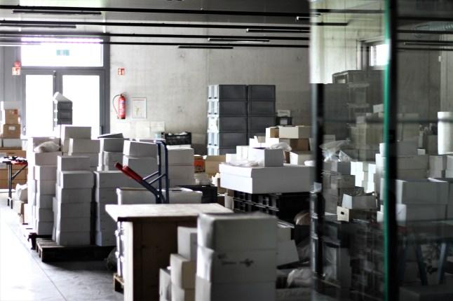 Archeologisch museum Velzeke - binnen - collectie - 24 inpakken1