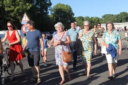 DDL merelbeke Burg. Maenhautstraat feestelijk geopend (2)