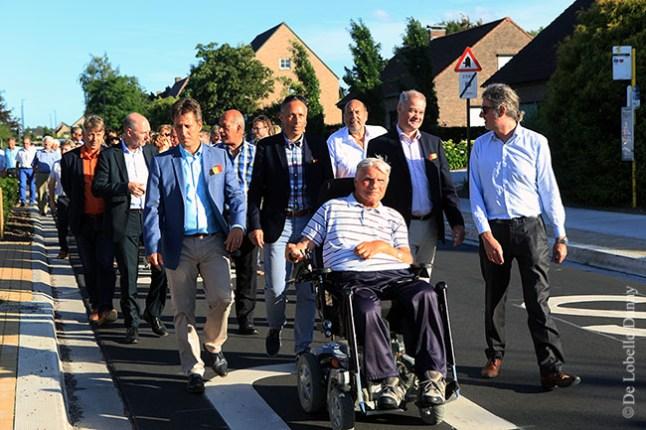 DDL merelbeke Burg. Maenhautstraat feestelijk geopend (9)