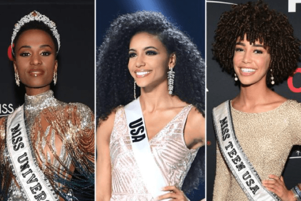 Women of Color Dominate Top 5 Beauty pageants