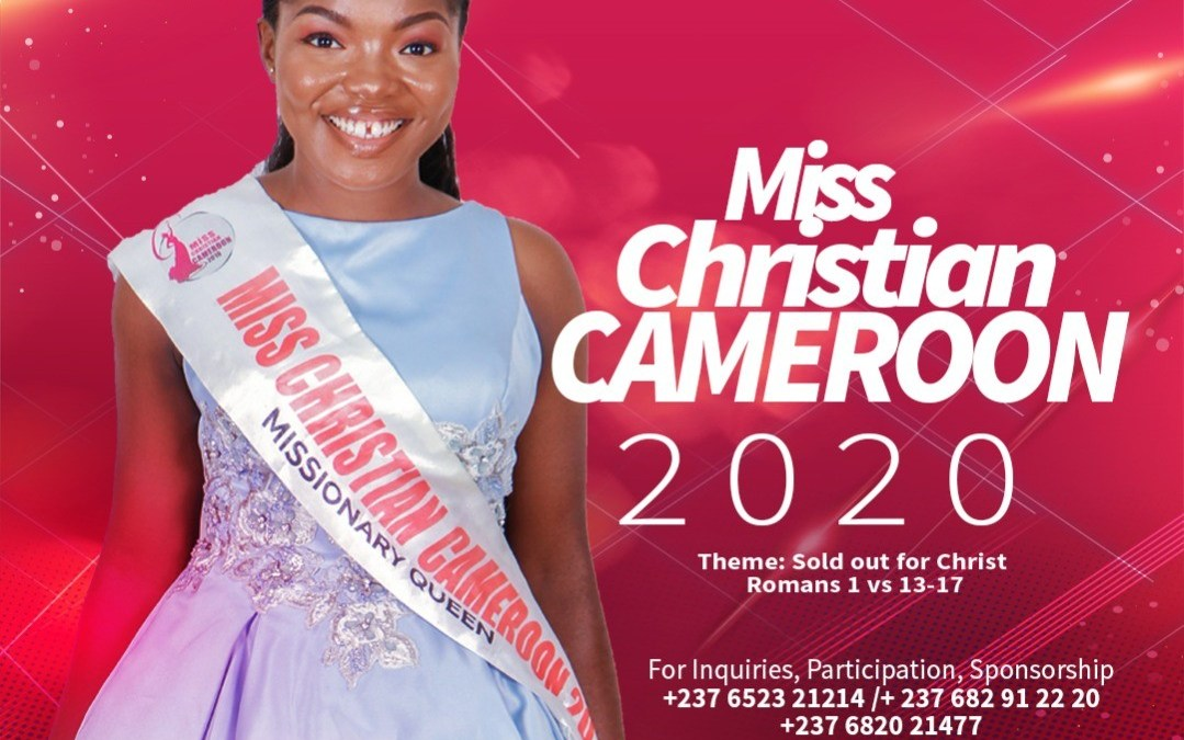 miss christian cameroon 2020