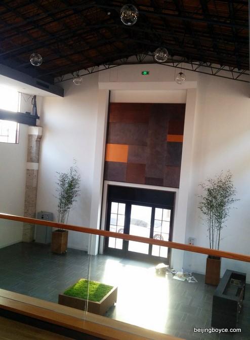 Copper event space from loft  Temple Restaurant Beijing.jpg