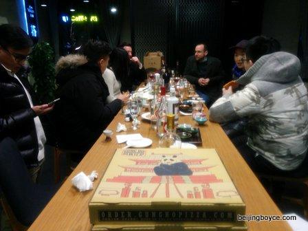 en vain baijiu bar beijing china flights shots cocktails snacks pizza (8)
