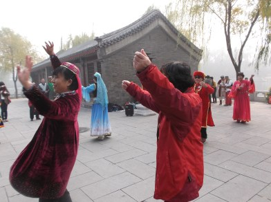 Dancing Uyghur Style in Beijing