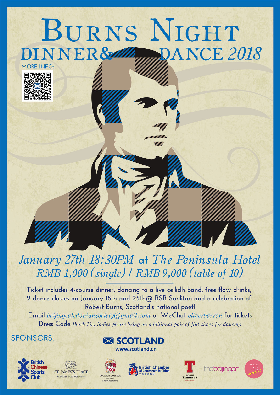 Burns Night Poster 2018