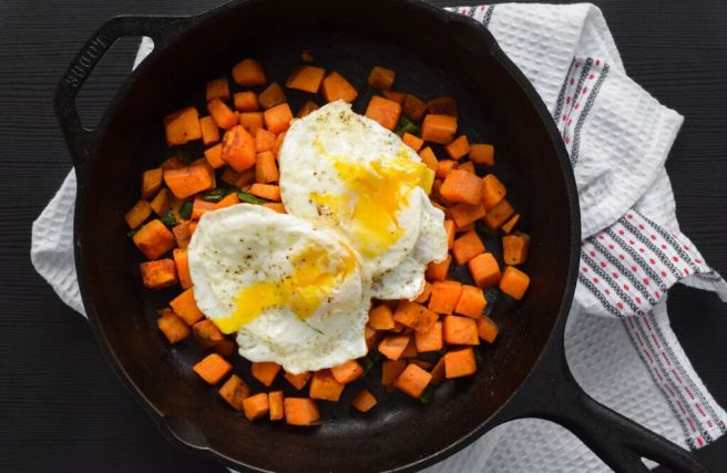 Sweet Potato Breakfast Potatoes | In Fine Fettle