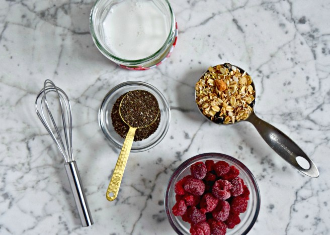 Chia Pudding Recipe - This is the easiest chia pudding recipe you'll find! Just 2 ingredients + your favorite toppings. It's gluten free, vegan, dairy free and a super healthy breakfast or snack idea.