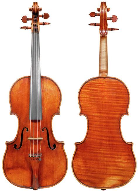 S1738-1vn Bergonzi, Carlo c1735 Kreisler, Perlman