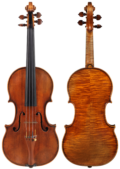 S3349-1vn Guarneri I, Pietro c1707 Baron Knoop