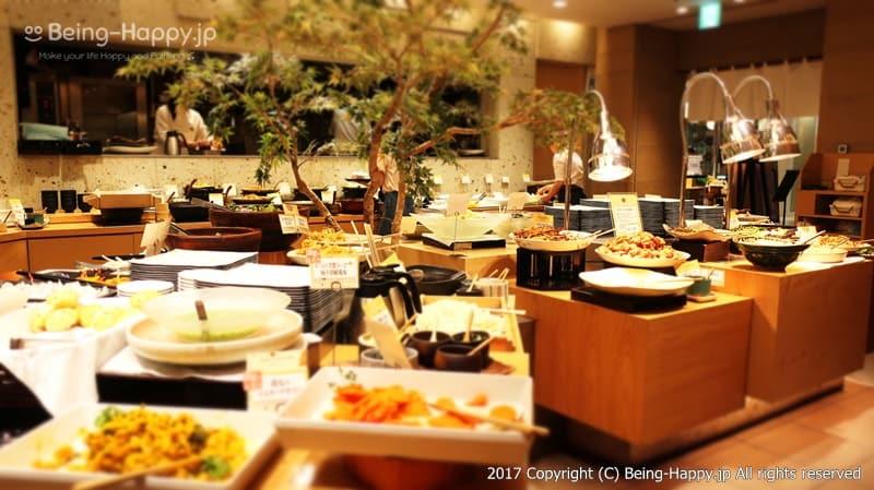 自然食ビュッフェレストラン はーべすと ービュッフェスペース