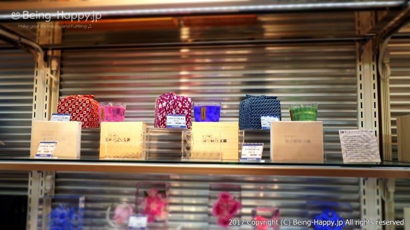 Hirota Glassの江戸キャンドル@丸善 池袋(MARUZEN) photo by 茶子(ちゃこ)
