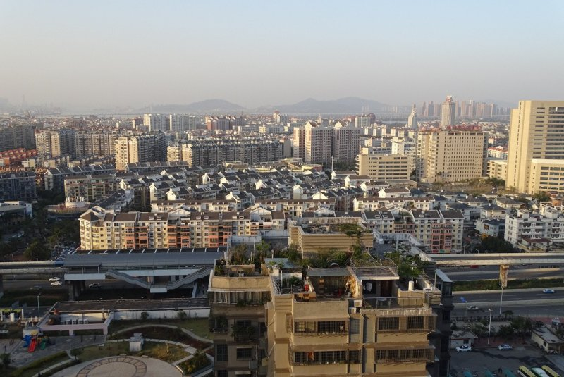 View of Jimei, Xiamen from 26th floor
