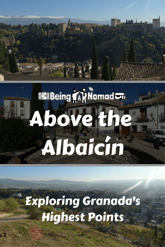 The best way to see Granada is from its highest points. And you can get much higher than you can at Mirador San Nicolas. This post details what you need to do to get on top of Granada and get those Instagrammable views. #albaicin #granada #visitspain #miradorsannicolas #miradorsanmiguel