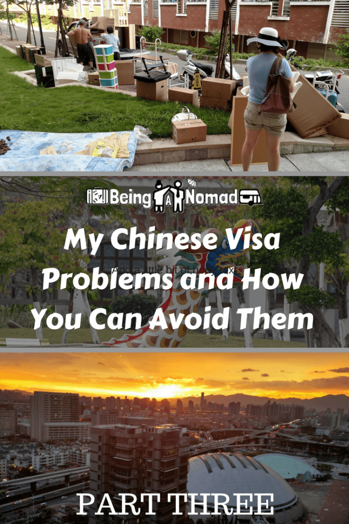 China is a great place to live but it's also rife with bureaucracy. During 3 years of living there, I encountered a lot of problems that could have been avoided. This is part 3 of a blog series that explains what they were and how to avoid them happening to you. #chinaexpat #chinesevisa #liveinchina #movetochina