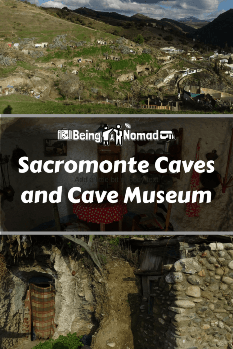 The Sacromonte Caves and the Sacromonte Caves Museum really are like something out of Lord of the Rings. This article describes how to get to Granada's fascinating cave dwellings, what to see where you get there, and how to authentically meet the locals. #sacromonte #granada #cavedwelllings #visitspain