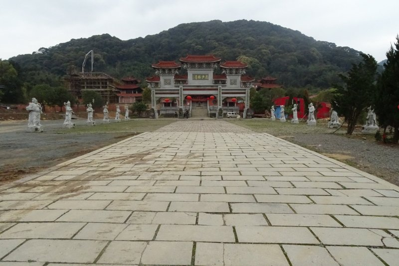 Straight Laid Path Leading to Fuqing South Shaolin Temple