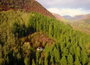 Graig Ddu - The Cottage in the Forest, Llanthony