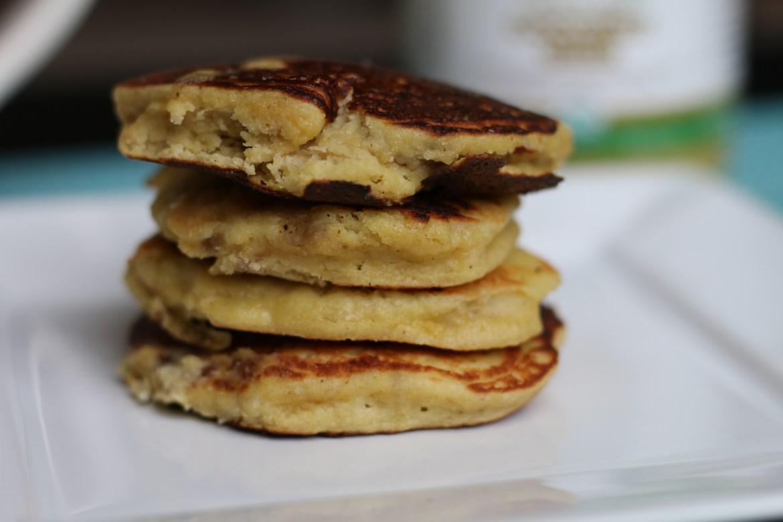 Grain-free Banana Pancakes from BeingBrigid