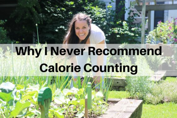 Why I Never Recommend Counting Calories